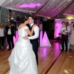 First Dance at Wedding Reception Northamptonshire