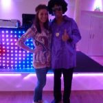 Couple in Fancy Dress Soul Night