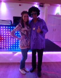 Couple in Fancy Dress Soul Night Northamptonshire