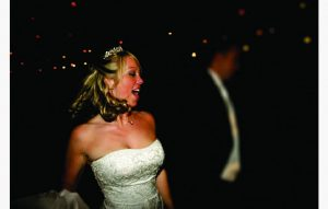 Bride Dancing Happy Northamptonshire