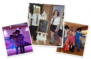Collage of Themed Disco Events Northamptonshire